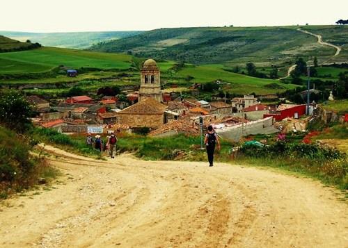 The actual Camino de Santiago