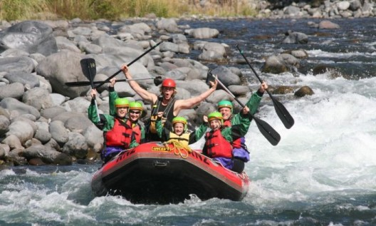 The Water Rafting Journey -- A great Summer time Holiday