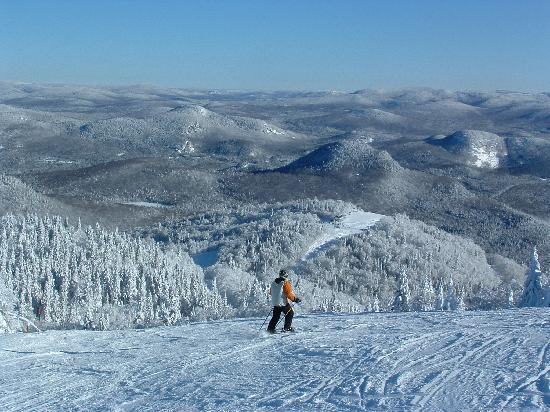 The reason why Skiing within Mont-Tremblant