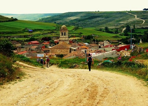 The actual Camino de Santiago