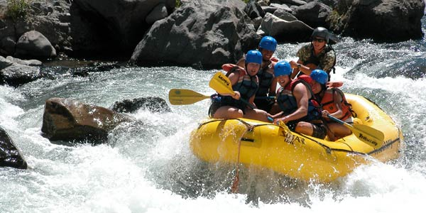 Or Rafting -- The actual Whitewater Premium