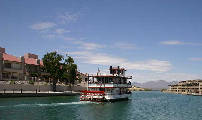 Vessel Excursions within River Havasu Town